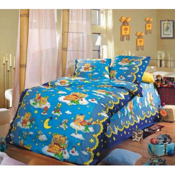Бязь 150 Сладкий сон 1 синий,рис.91981
