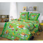 Бязь 150 Сладкий сон 3 зеленый,,рис.91983