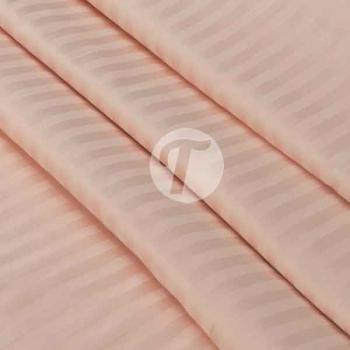 Страйп сатин 240см полоса 1*1,125гр, цв.персик