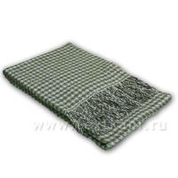Плед 1,5сп, 20% шерсть-80% ПАН,140х200см,арт.44