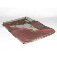Одеяло детское байковое 100*140,450гр,арт.lx2