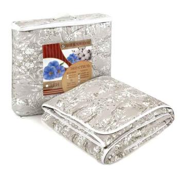 Одеяло лен хлопок 300гр,1,5сп 142*205