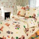 Бязь детская Усатый-полосатый 150-5002-1